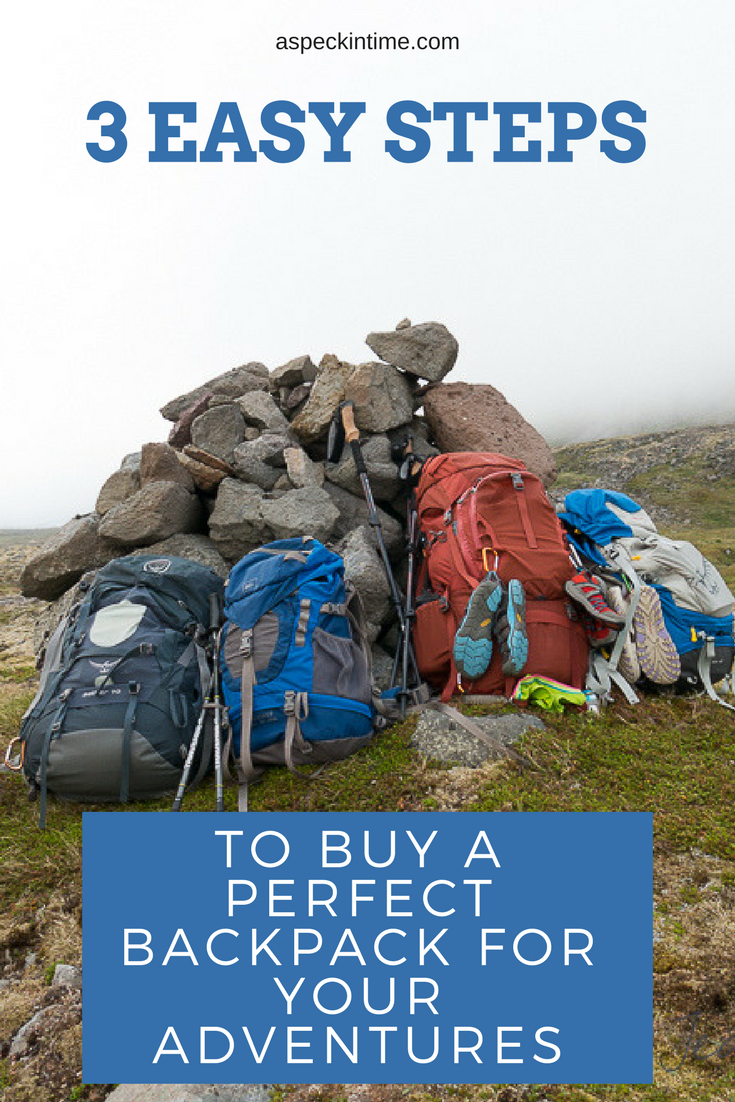 how to buy a hiking backpack