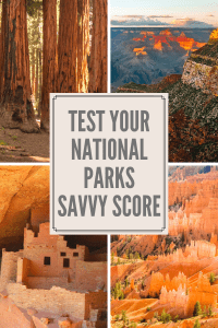 Can you identify these National Parks by their photos? 1