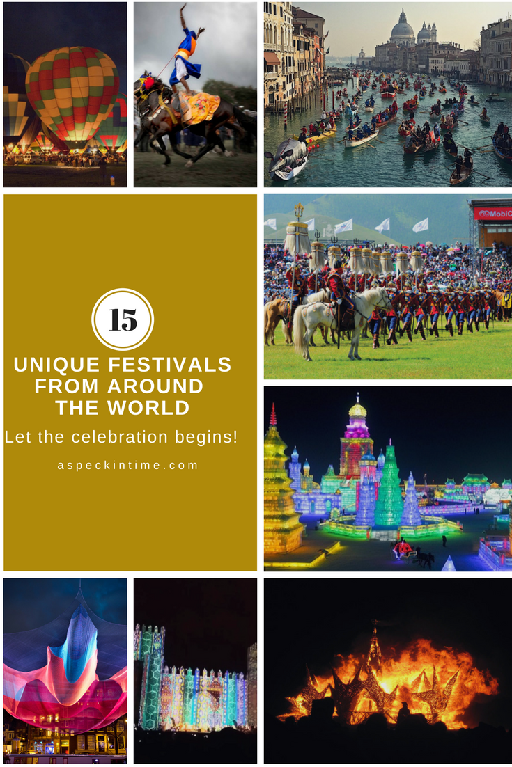 15 best and unique festivals from around the world