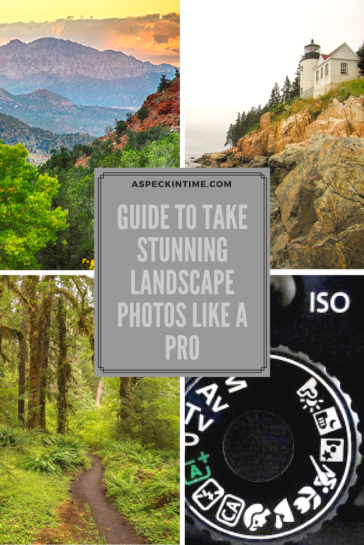 how to take landscape photos
