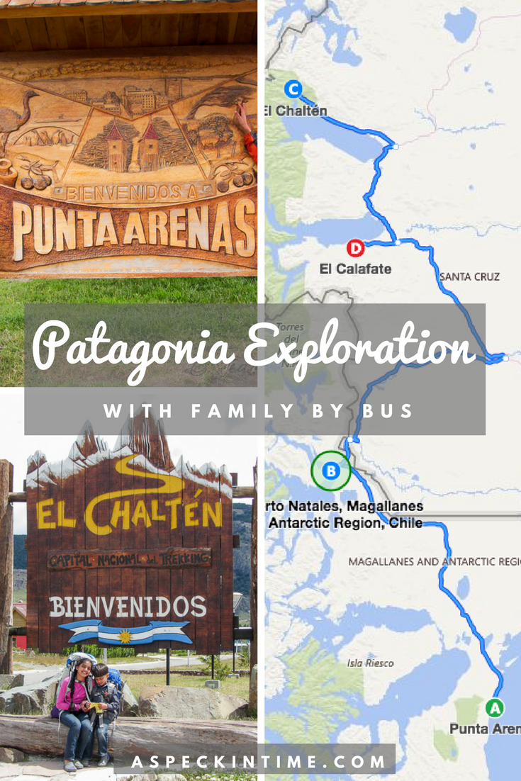 exploring patagonia with family