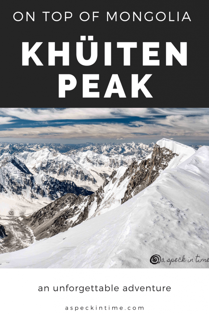Mongolian Altai Adventure - Climbing the Top of Mongolia Khuiten Peak