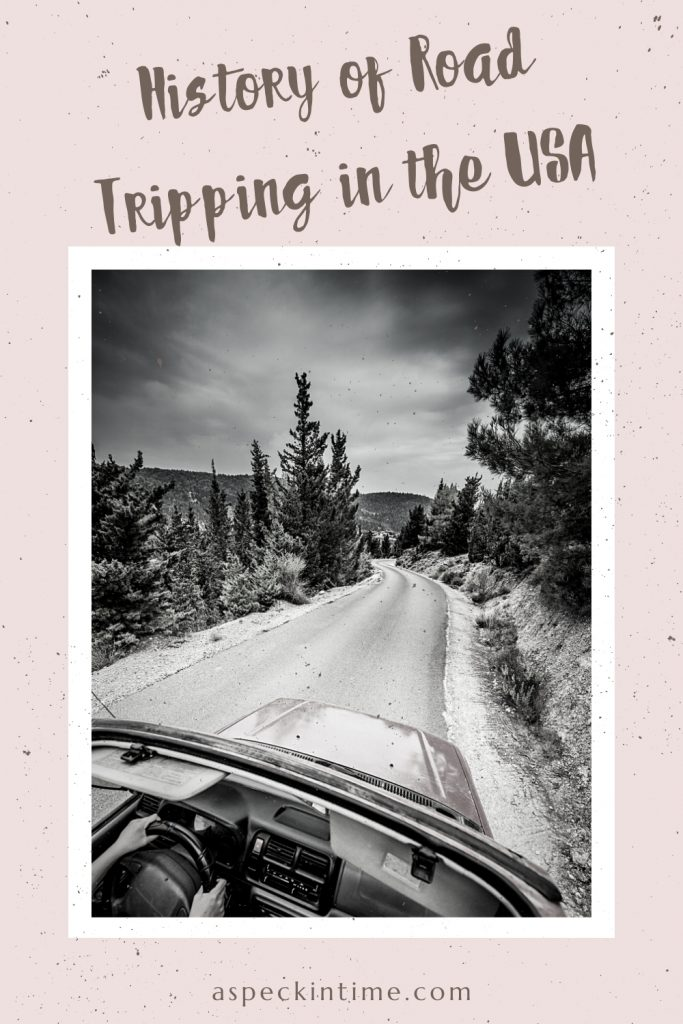 history of road trips in USA
