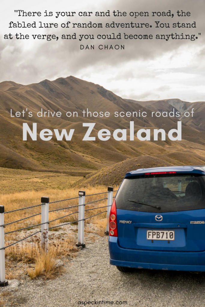 Driving the scenic roads of New Zealand's South Island