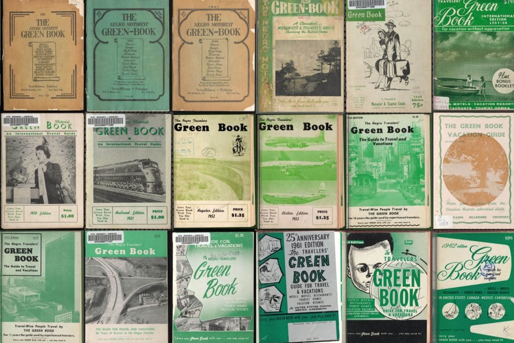 covers of green book
